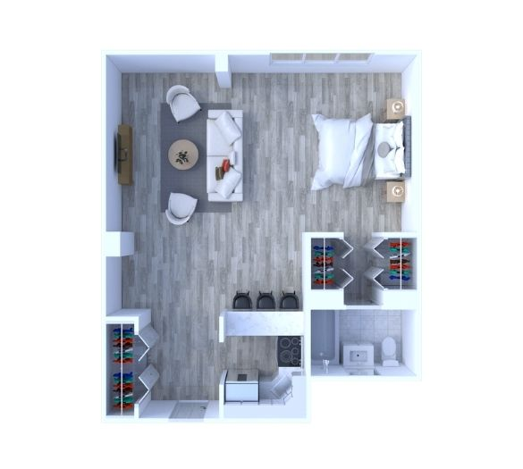 Studio Floor Plan S1